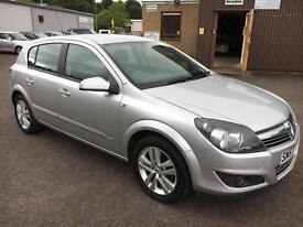 5707 Vauxhall Astra 1.4i 16v SXi Silver 5 Door 45393mls MOT 12m