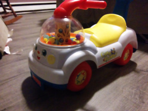 Fisher price ride on corn popper