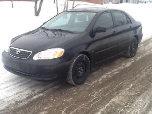 2007 Toyota Corolla Se Sedan ***Low KMS & SAFETIED***