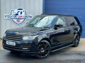 image for 2013 63 LAND ROVER RANGE ROVER 4.4 SDV8 AUTOBIOGRAPHY 5D 339 BHP DIESEL