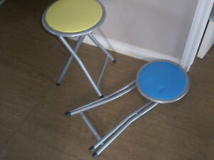 Two stools are free to go