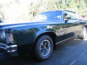 RARE  1972 Pontiac Gran Prix in nice condition