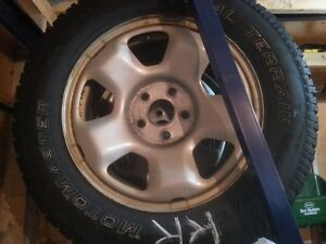 245 / 65 R17 Studded Winter Tires and Wheels St. John's Newfoundland image 2