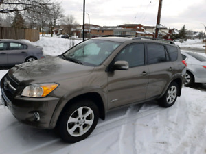 2009 Toyota RAV4 limited V4 2.5 certified