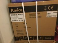 Brand new amica table top fridge and freezer
