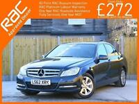 2012 Mercedes-Benz C Class C220 CDI Turbo Diesel Executive SE Blue Efficiency 6