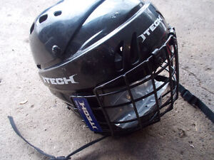kids hockey helmet with face mask