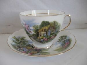 Bone China Cups and Saucers for sale