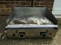 Parry lpg 600 griddle 2 burner