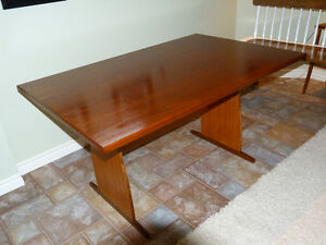 Gorgeous, Refinished  Teak Table