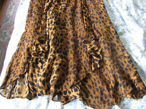 Leopard Patterned sleeveless summer dress. Oakville / Halton Region Toronto (GTA) image 2