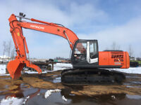 JD Excavating. Construction. Shoreline protection,demolition