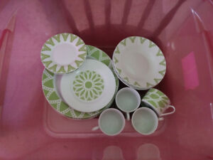 Green/White Summer Dishes