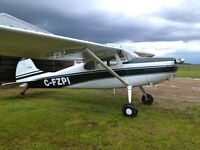 Cessna 170A wheels/skies