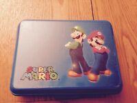 Nintendo 3DS (Aqua Blue) Inc Case & 8 Games Bundle