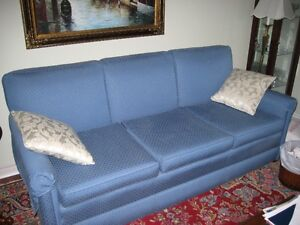 Large Blue Sofa