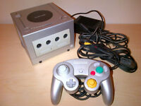 Nintendo Gamecube (Silver/Argent) + 1 Manette/Controller
