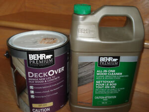 Behr Premium Deck Over and Cleaner