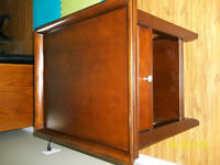 END TABLE & MAGAZINE RACK/CABINET