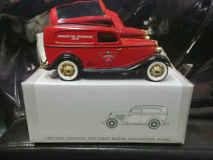 Candiantire diecast Collectable Car Coin Bank