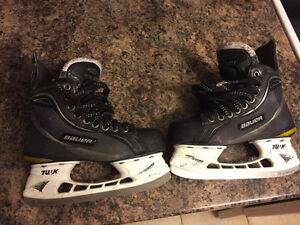 Bauer supreme 70 size 3D hockey skates