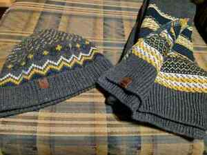 Timberland original hat and scarf bundle