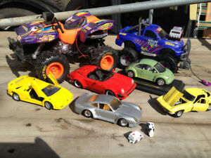 Monster Trucks,Metal Cars & Remote Control Sea Racer