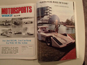 NATIONAL MOTORSPORTS ANNUAL 1976 - 10th Anniversary Issue - Spec Sarnia Sarnia Area image 8