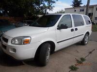 2007 Chevrolet Uplander van/cargo Minivan, Van