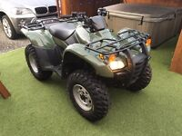 2014 (64) Honda Trx 420 quad farm quad as new with only 60 miles on clock
