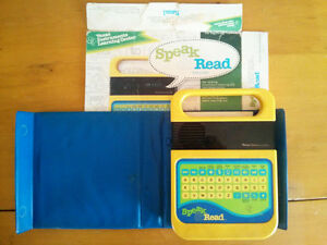TI Speak&Read w Cover, Box, Missing Story Book and Battery Cover London Ontario image 1