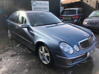 MERCEDES E CLASS E240 2.6 V6 AVANTGARDE Blue Auto Petrol, 2002 (52)