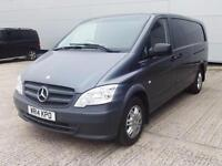 2014 Mercedes-Benz Vito 113 CDI BLUEEFFICIENCY EXTRA LONG Diesel grey Manual