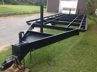 Brand new 10 ton float/equipment trailer with 3 axles