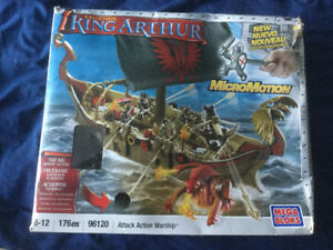 LEGO Mega Blocks.  Legends King Arthur