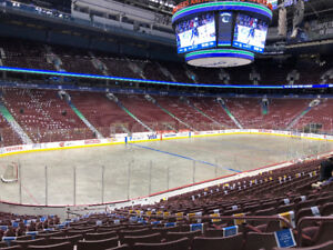Vancouver Canucks vs. Boston Bruins - Lower Bowl Tickets