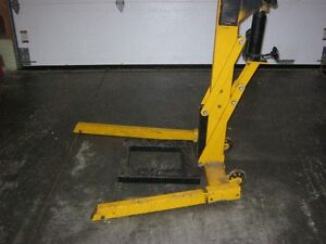 Hydraulic Lift, Motorcycle, Atv, Lawn Tractor