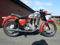 BSA GB33 1956 500cc OVER HEAD VALVE LIKE A GOLDSTAR BUT QUARTER THE PRICE.