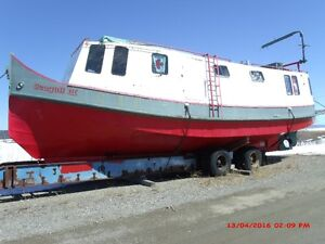 42 Foot Steel Hull  Russel Brothers Fish Tug