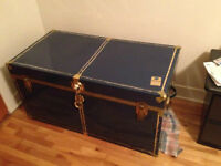 Blue Metal Chest