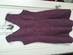 Dress with necklace for sale