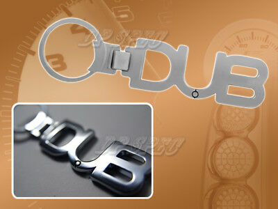DUB LOGO KEY CHAIN EMBLEM DODGE CHARGER CHRYSLER 300 R DUB-061