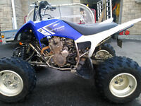 250 Raptor for sale, 5 speed, plated.