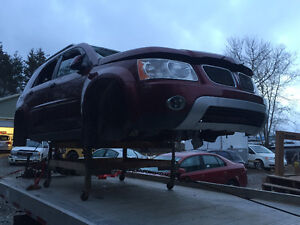PATING OUT PONTIAC TORRENT/CHEVY EQUINOX