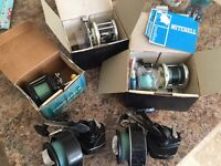 Fishing Reels with boxes
