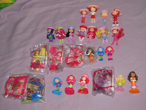 FOR SALE 2 LOTS OF McDONALDS STRAWBERRY SHORTCAKE DOLLS SOME NEW