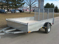 Excalibur 6 X 12 Box Utility / Landscaper Trailer (NEW)