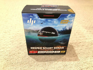 Deeper Smart Fishfinder Pro Plus (Brand new never used/opened)