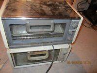 VERY DUSTY UNDER THE COUNTER TOASTER OVENS