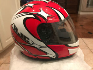 New In box Large HJC Fusion CL 12 Helmet with Gloves